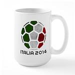 Italy World Cup 2014 Large Mug