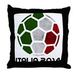 Italy World Cup 2014 Throw Pillow