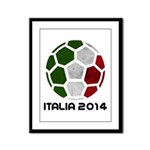 Italy World Cup 2014 Framed Panel Print