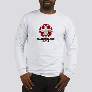 Switzerland World Cup 2014 Long Sleeve T-Shirt