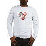 Switzerland World Cup 2014 Hea Long Sleeve T-Shirt