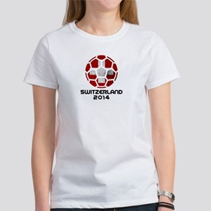 Switzerland World Cup 2014 Women's T-Shirt