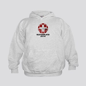Switzerland World Cup 2014 Kids Hoodie