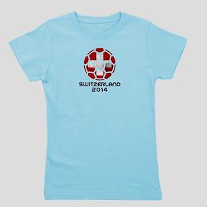 Switzerland World Cup 2014 Girl's Tee
