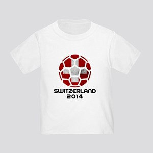 Switzerland World Cup 2014 Toddler T-Shirt