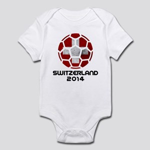 Switzerland World Cup 2014 Infant Bodysuit
