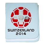 Switzerland World Cup 2014 baby blanket