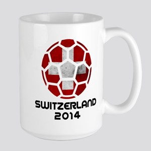 Switzerland World Cup 2014 Large Mug