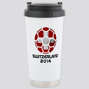 Switzerland World Cup 2 Stainless Steel Travel Mug