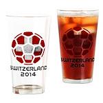 Switzerland World Cup 2014 Drinking Glass