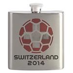 Switzerland World Cup 2014 Flask