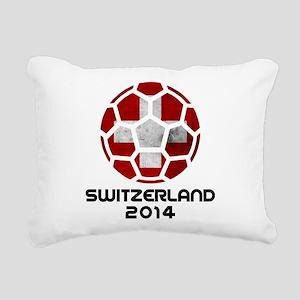 Switzerland World Cup 20 Rectangular Canvas Pillow