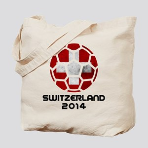 Switzerland World Cup 2014 Tote Bag