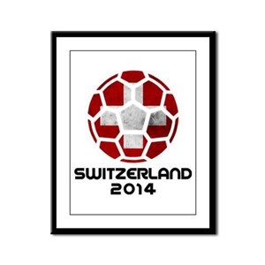 Switzerland World Cup 2014 Framed Panel Print