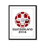 Switzerland World Cup 2014 Framed Panel Print
