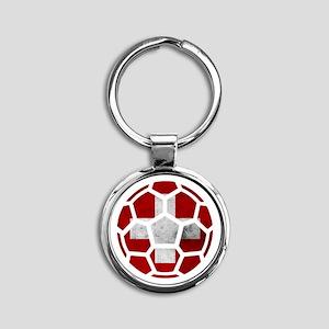 Switzerland World Cup 2014 Round Keychain