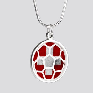 Switzerland World Cup 2014 Silver Round Necklace