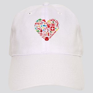 Switzerland World Cup 2014 Heart Cap