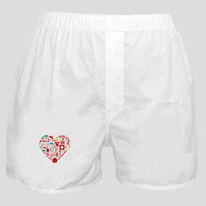 Switzerland World Cup 2014 Heart Boxer Shorts