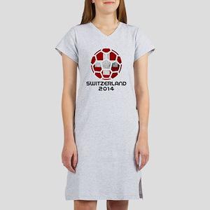 Switzerland World Cup 2014 Women's Nightshirt