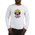 Ecuador World Cup 2014 Long Sleeve T-Shirt