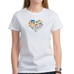 Ecuador World Cup 2014 Heart Women's T-Shirt