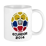 Ecuador World Cup 2014 Mug