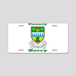 County Kerry COA Aluminum License Plate