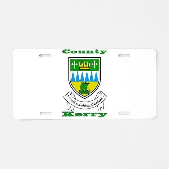 County Kerry COA Aluminum License Plate