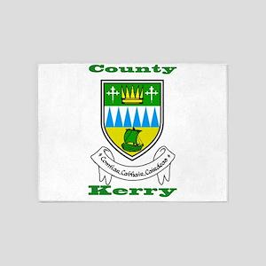 County Kerry COA 5'x7'Area Rug