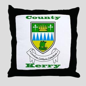 County Kerry COA Throw Pillow