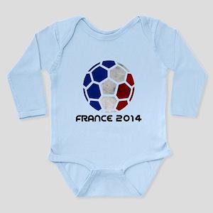 France World Cup 2014 Long Sleeve Infant Bodysuit