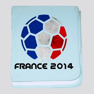 France World Cup 2014 baby blanket