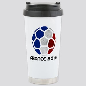 France World Cup 2014 Stainless Steel Travel Mug