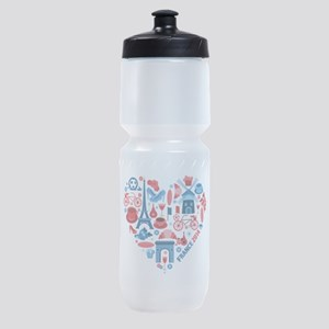 France World Cup 2014 Heart Sports Bottle
