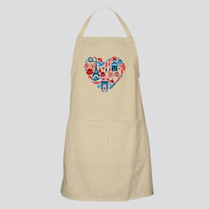 France World Cup 2014 Heart Apron