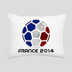 France World Cup 2014 Rectangular Canvas Pillow
