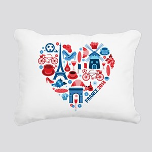 France World Cup 2014 Rectangular Canvas Pillow