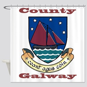County Galway COA Shower Curtain