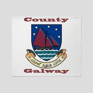 County Galway COA Throw Blanket