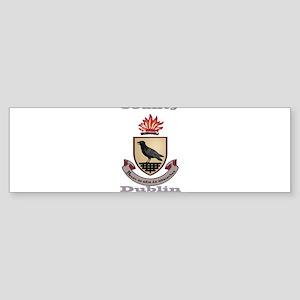 County Dublin Coat of Arms Bumper Sticker