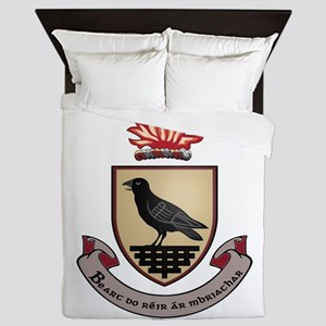 County Dublin Coat of Arms Queen Duvet