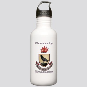 County Dublin Coat of Arms Water Bottle