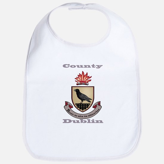 County Dublin Coat of Arms Bib