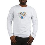 Honduras World Cup 2014 Heart Long Sleeve T-Shirt