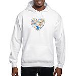 Honduras World Cup 2014 Heart Hooded Sweatshirt