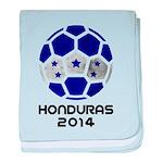 Honduras World Cup 2014 baby blanket