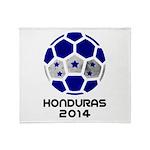 Honduras World Cup 2014 Throw Blanket