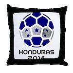 Honduras World Cup 2014 Throw Pillow