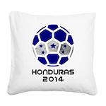 Honduras World Cup 2014 Square Canvas Pillow